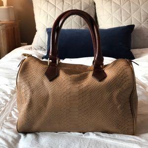 Gigi NY camel / cognac satchel